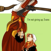 I'm not giving up, Evans