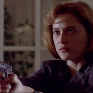 Dana Scully is Having None of Your Shit.