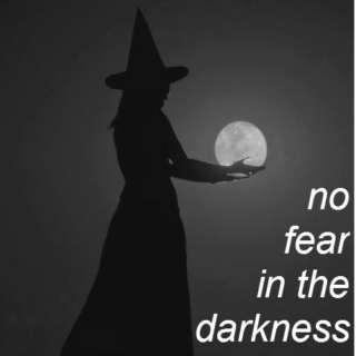 no fear in the darkness