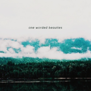 One Worded Beauties