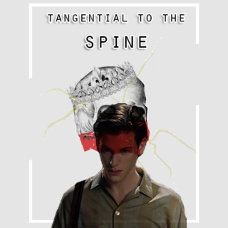 TANGENTIAL TO THE SPINE