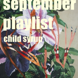 September playlist // 2014