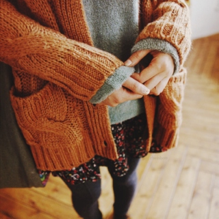 chilly days and warm sweaters