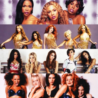 Christine's Awesome Girl Group Mix Volume 1