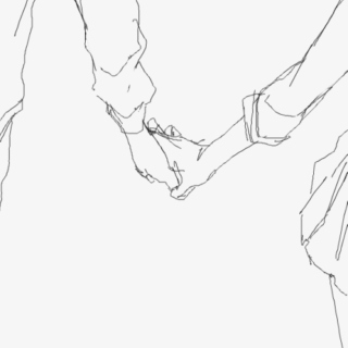hold my hand and don't let go