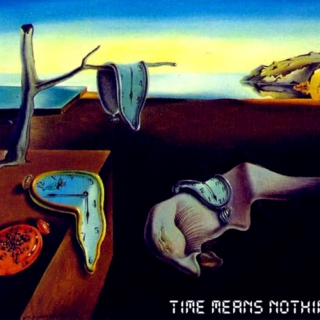time means nothing