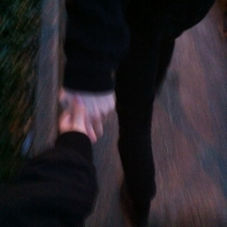 just hold my hands