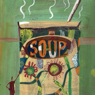Strange and unusual soup with Johnny