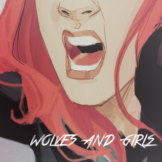 wolves and girls.