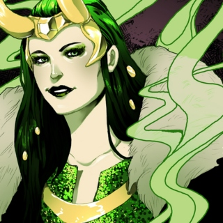Queen of Darkness: a Lady Loki mix