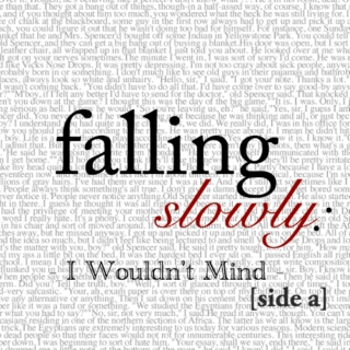 Falling Slowly: I Wouldn't Mind