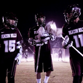 Beacon Hills Lacrosse Team