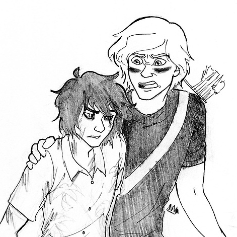 Sun Shy: Will Solace + Nico Di Angelo