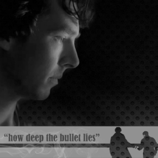 """how deep the bullet lies"""