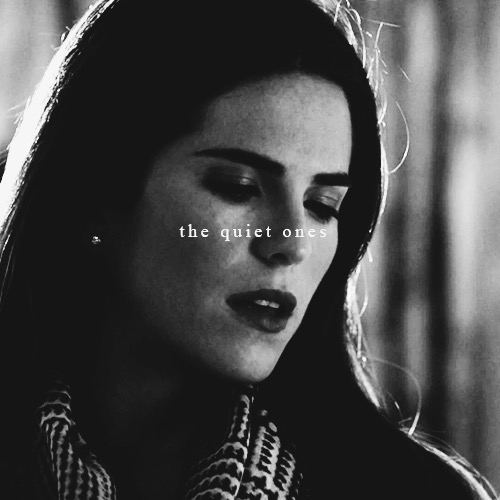 quiet girl with a dangerous mind