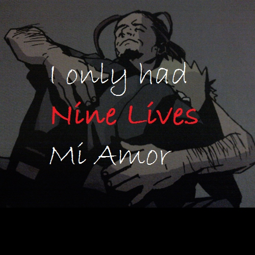 I only Had Nine Lives Mi Amor
