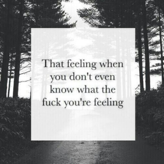 mixed feelings;