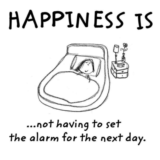 Happiness is?