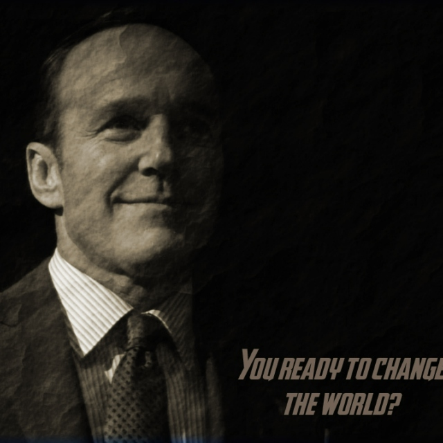 You ready to change the world?