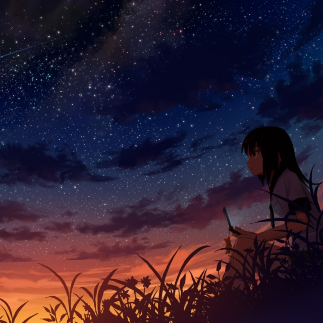 A beautiful sunset. Melt with the stars again.