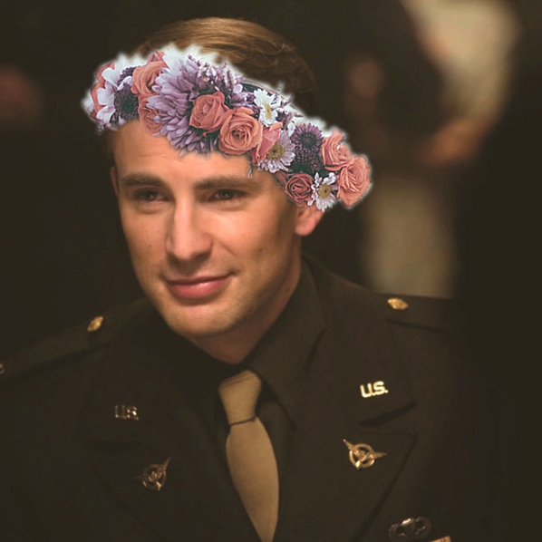 Your Favorite Cheerful Steve Rogers Mix