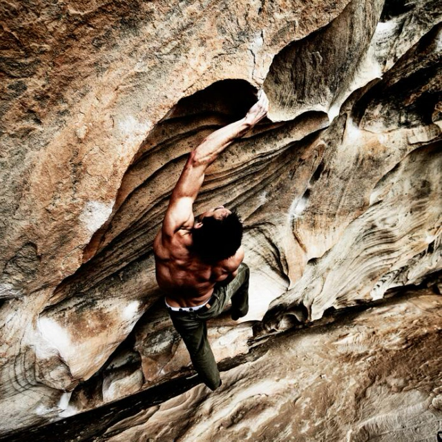 Either you've got it or your a sport climber