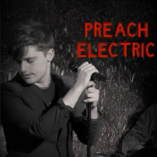 Preach Electric To A Microphone Stand