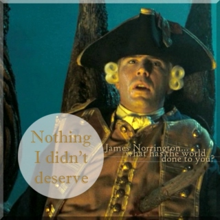 Nothing I Didn't Deserve: A James Norrington Fanmix