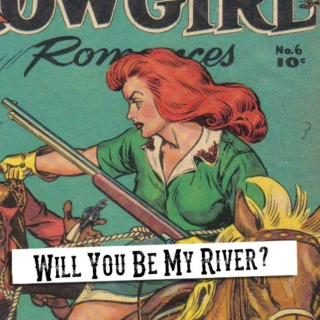 will you be my river? (croach/red)