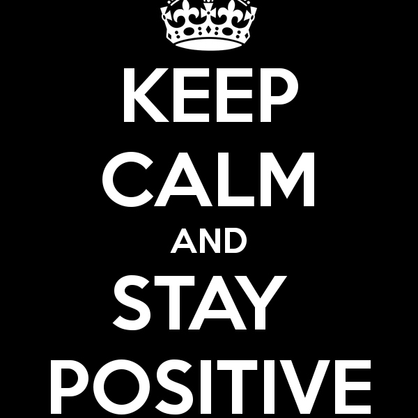 Time for some Positive Thinking!