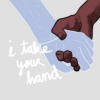 i take your hand, now you'll never be lonely