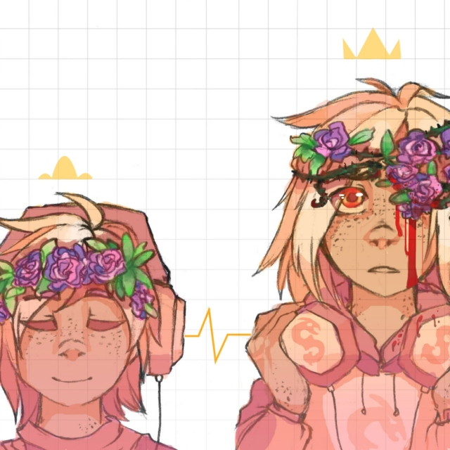 ♕ crown of thorns ♛