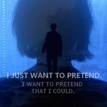 I just want to pretend.