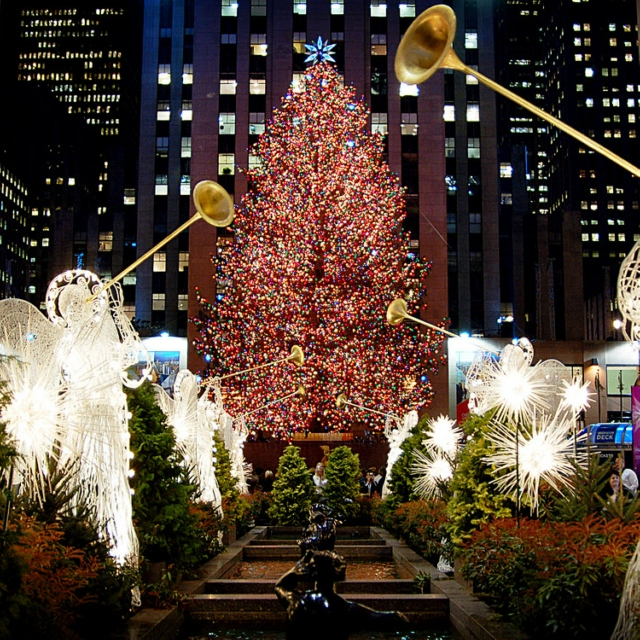 Christmas in NYC  (▰˘◡˘▰)