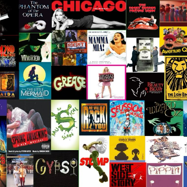 Broadway Songs I'm Stuck On