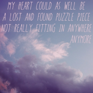 a lost and found puzzle piece