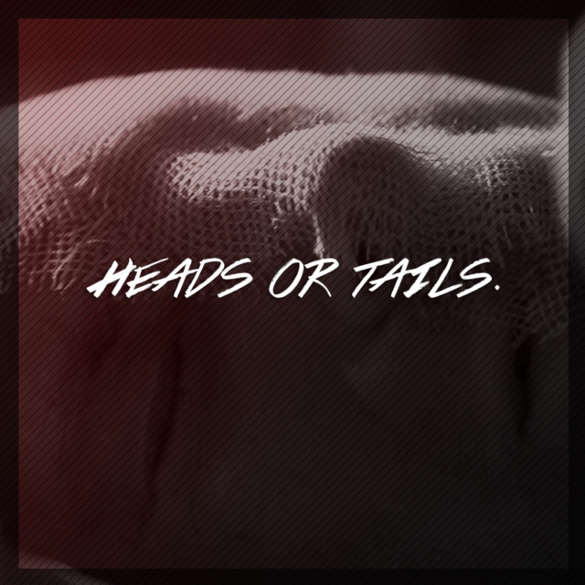 heads or tails.