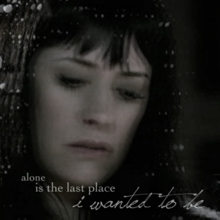 alone is the last place i wanted to be