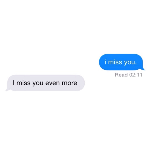 missing your voice.