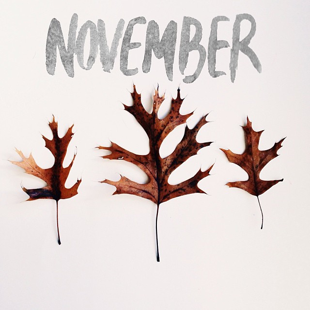 This Is My November, Not Yours