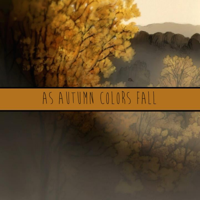 As autumn colors fall