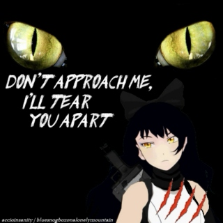 Don't Approach Me, I'll Tear You Apart