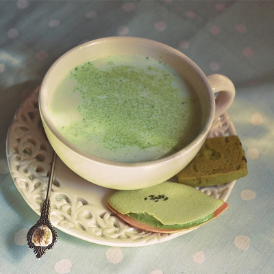 Java Jive #2: Green Tea Latte