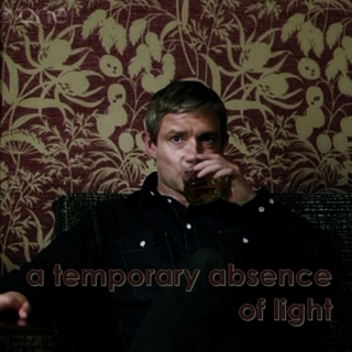 a temporary absence of light