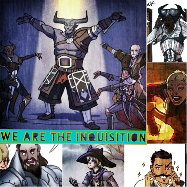 Nobody expects the Inquisition