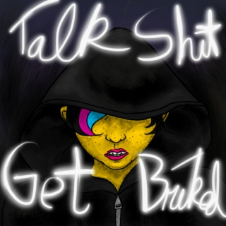 Talk Shit Get Bricked