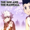 the sun and the rainfall