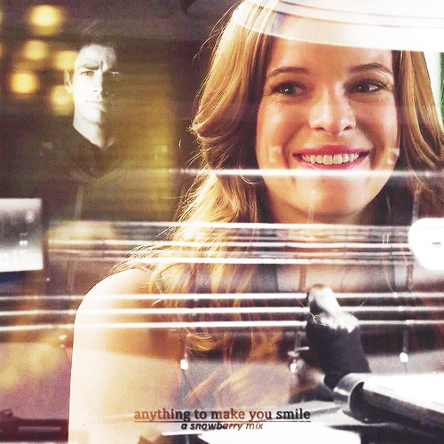 anything to make you smile (a snowbarry mix)