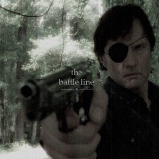 the governor} the battle line