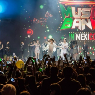 Music Bank in Mexico 2014